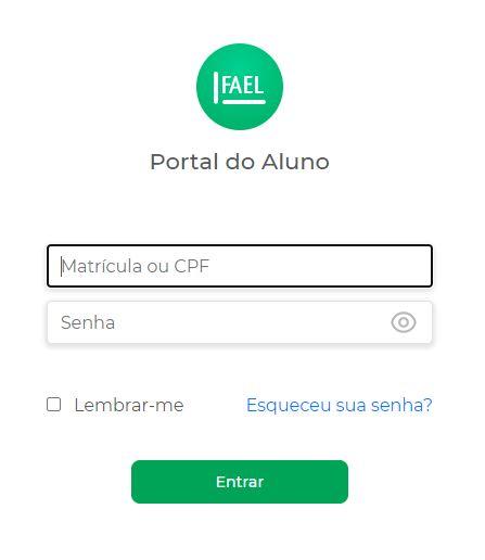 FAEL Portal do Aluno